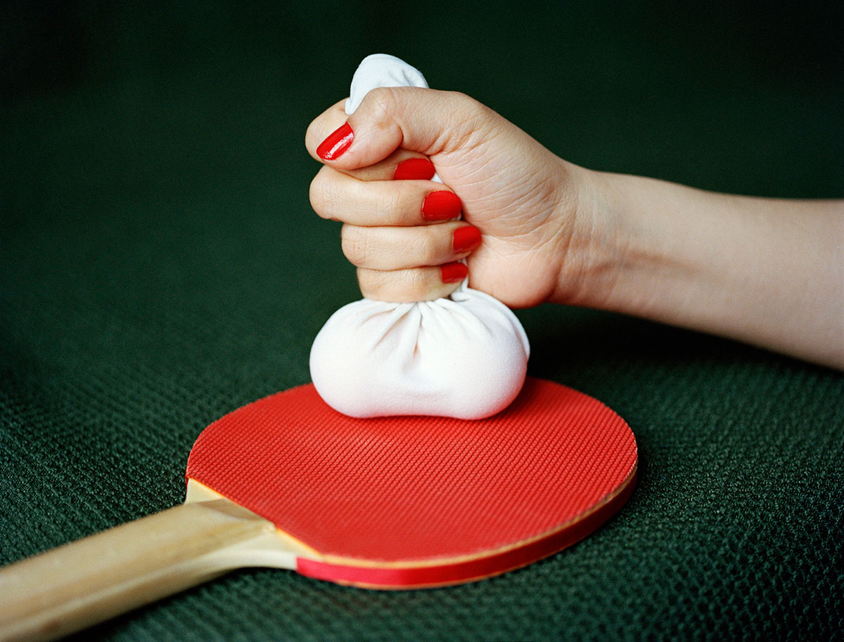 Ping Pong balls (2013), © Pixy Liao