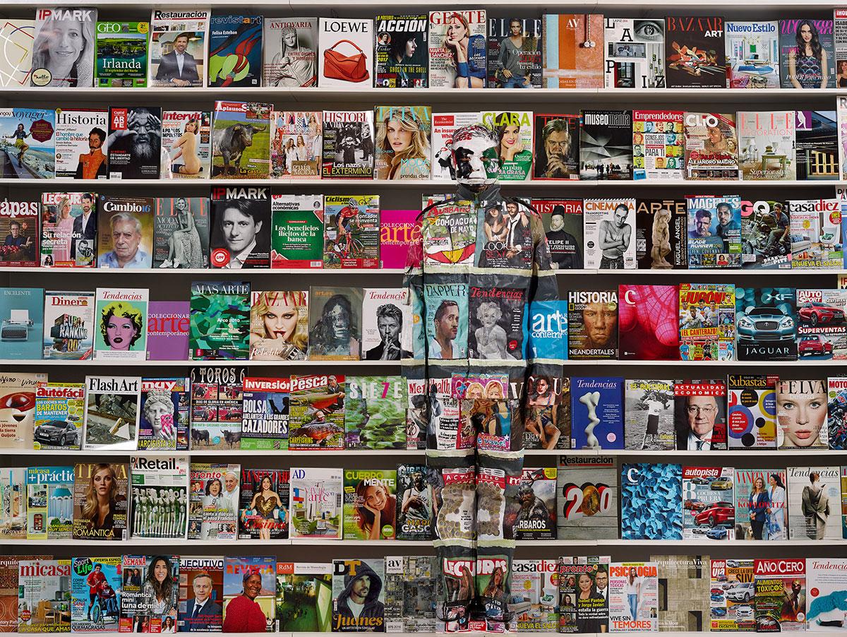 Spain Magazine (Photographs /2017) © Liu Bolin