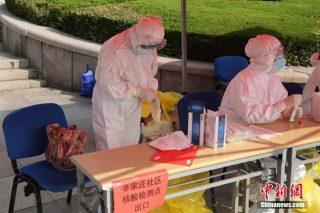La Cina testerà 9 milioni di abitanti a causa di un focolaio di coronavirus a Qingdao