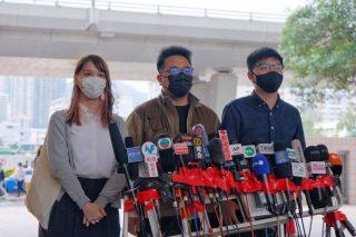 Joshua Wong, Agnes Chow e Ivan Lam si dichiarano colpevoli nel processo per proteste di Hong Kong