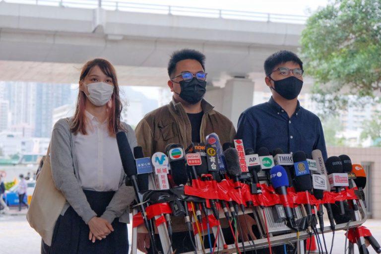 Joshua-Wong,-Agnes-Chow-e-altri-attivisti-si-dichiarano-colpevoli-nel-processo-per-proteste-di-Hong-Kong