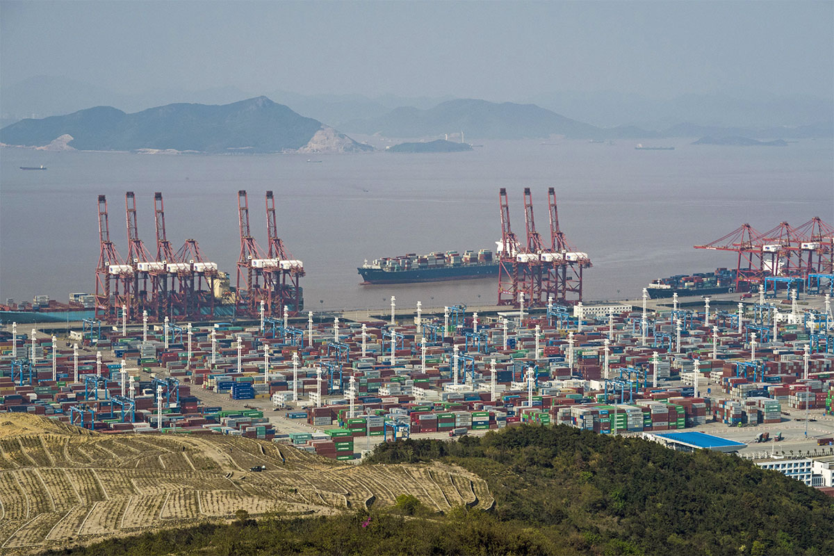 porto di Ningbo-Zhoushan