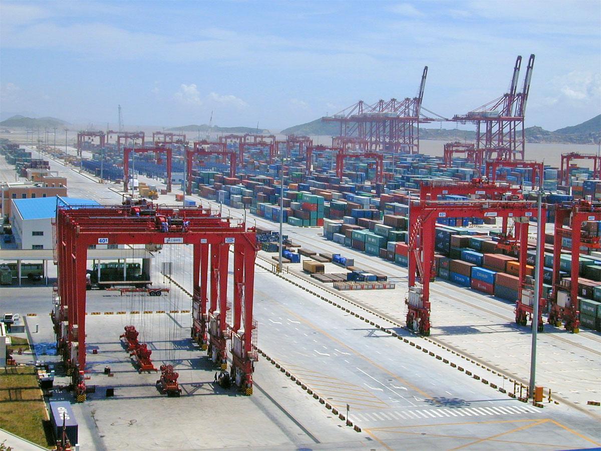 porto di shanghai