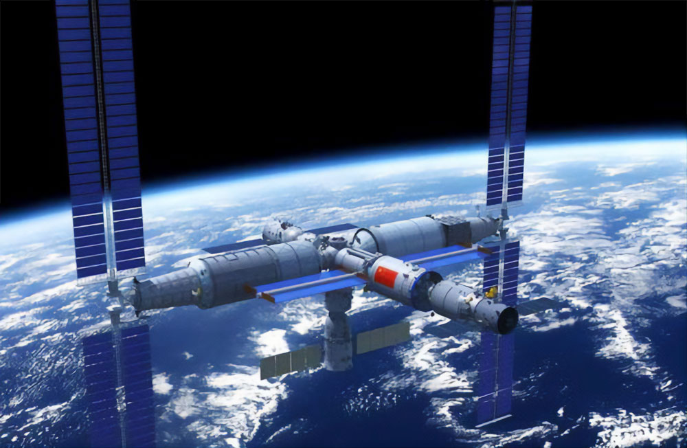 stazione spaziale cinese Tiangong