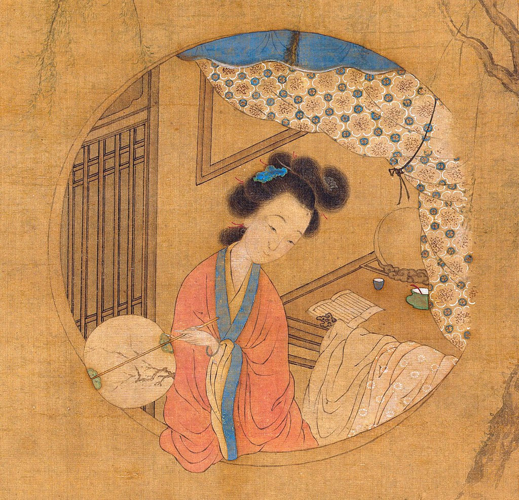 Li-Xiangjun cortigiane dinastia ming