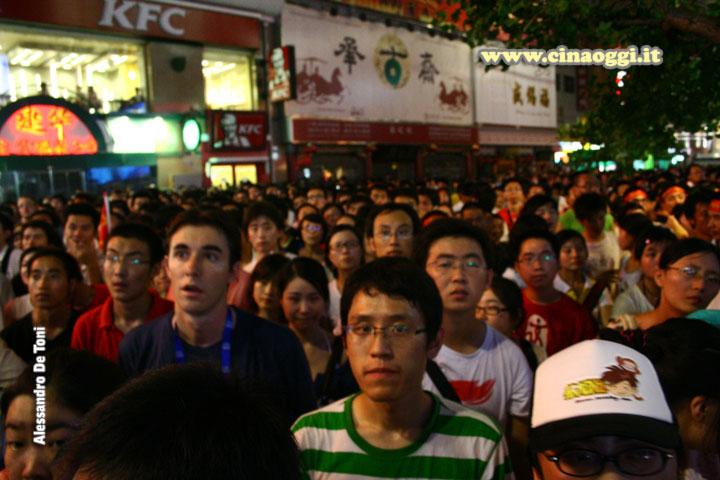folla-olimpiadi beijing 2008