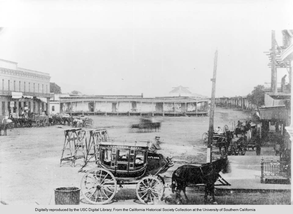 La vecchia Chinatown di Los Angeles che fu teatro delle rivolte cinesi del 1871
