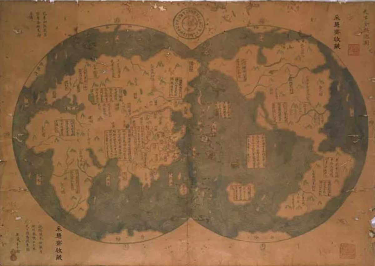 mappa globo