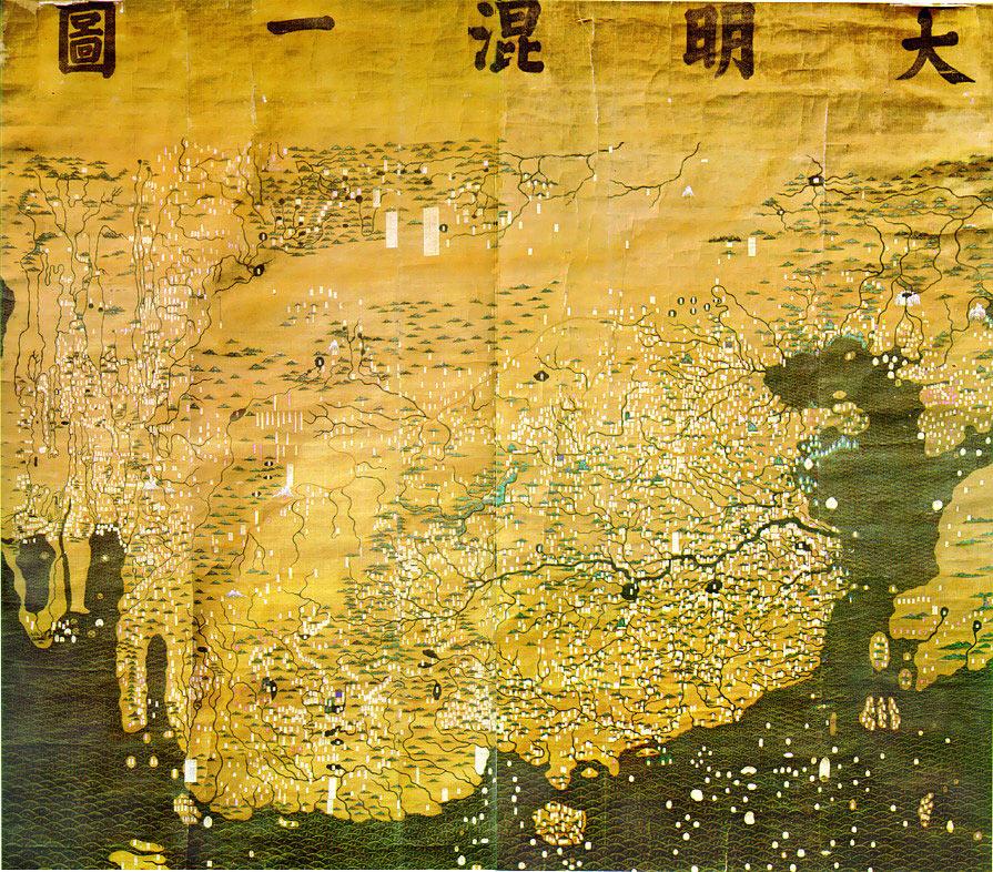 La mappa Ming del 1390